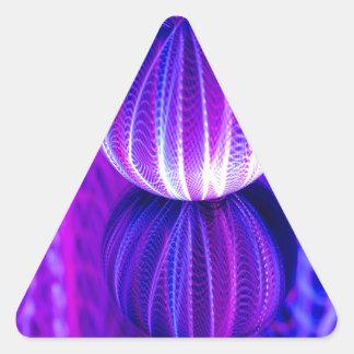 Adesivo Triangular a bola de cristal reflete