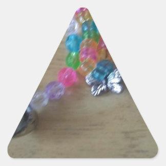 Adesivo Triangular a casa fez braclets frisados
