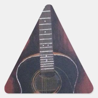 Adesivo Triangular A guitarra de Ryan