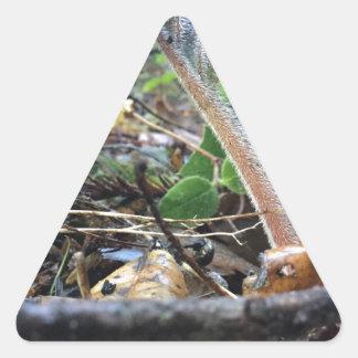 Adesivo Triangular A língua Sproutling do cão
