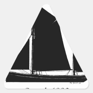 Adesivo Triangular a navigação 1893 smack - fernandes tony