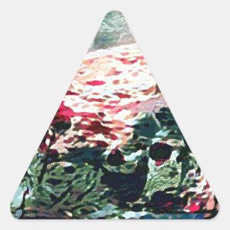 Adesivo Triangular A navigação da rainha do deserto