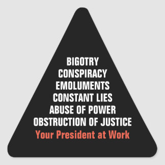Adesivo Triangular A obstrução dos lucros do conluio do dogmatismo