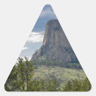 Adesivo Triangular A torre do diabo