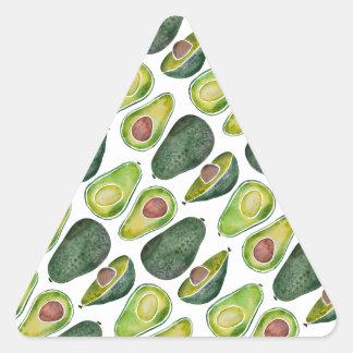 Adesivo Triangular Abacates
