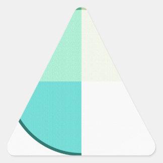 Adesivo Triangular Abstrato 2017 006