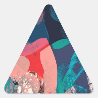 Adesivo Triangular Abstrato marmoreado