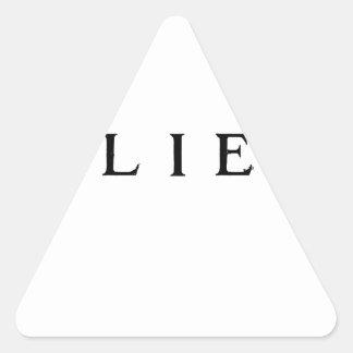 Adesivo Triangular Acredite - moderno legal