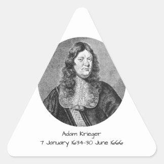 Adesivo Triangular Adam Krieger