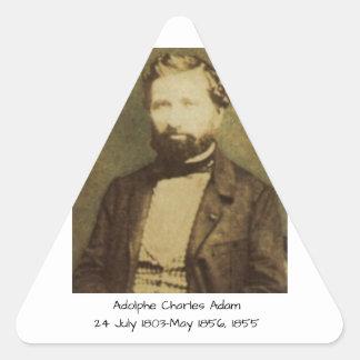 Adesivo Triangular Adolfo Charles Adam, 1855