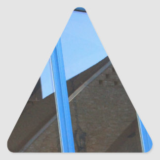Adesivo Triangular Aleta de vento na janela