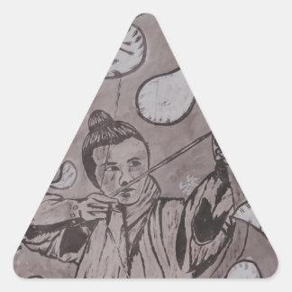 Adesivo Triangular Alvo verdadeiro por Carter L. Shepard