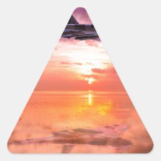 Adesivo Triangular Alvorecer de Vulcan