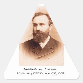 Adesivo Triangular Amedee-Ernest Chausson