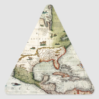 Adesivo Triangular América 1610