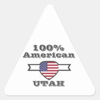 Adesivo Triangular Americano de 100%, Utá