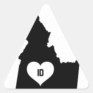 Adesivo Triangular Amor de Idaho