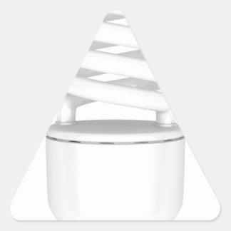 Adesivo Triangular Ampola fluorescente