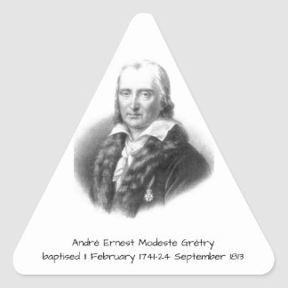 Adesivo Triangular André Ernest Modeste Gretry