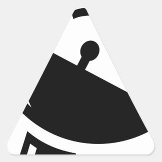 Adesivo Triangular Antena parabólica