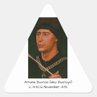 Adesivo Triangular Antoine Busnois igualmente Busnoys