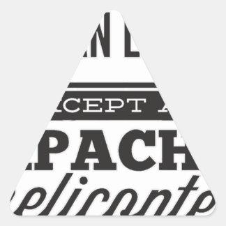 Adesivo Triangular Apache