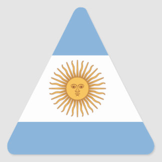 Adesivo Triangular Argentina