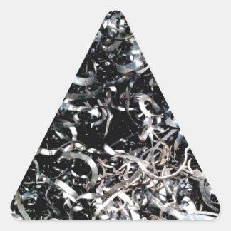 Adesivo Triangular arquivo fino dos fios