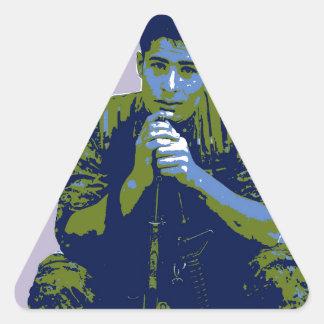 Adesivo Triangular Arte 3 do soldado 4 de YPG