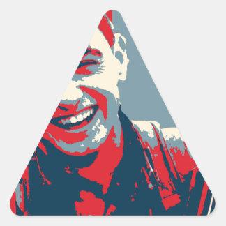 Adesivo Triangular Arte curdo 2 do lutador 2 de YPG