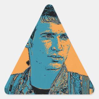 Adesivo Triangular Arte curdo 3 do lutador de YPG