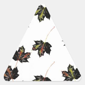 Adesivo Triangular Arte da folha
