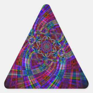 Adesivo Triangular Arte do fumo do reciclado (2)