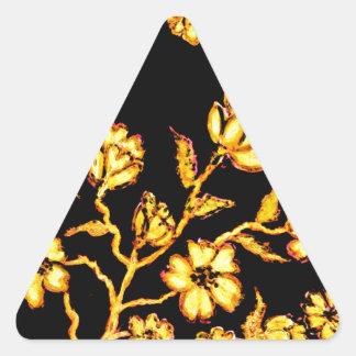 Adesivo Triangular Arte dourada 2 de Sakura