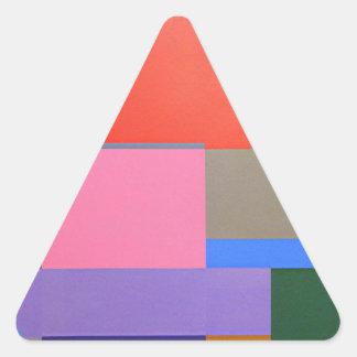 Adesivo Triangular Arte moderna/Mondrian