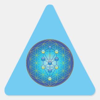 Adesivo Triangular Árvore de vida