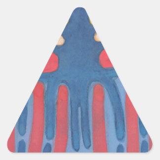 Adesivo Triangular Árvore pré-histórica