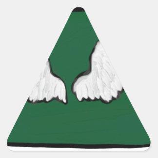Adesivo Triangular Asas resistentes de Norht Dakota