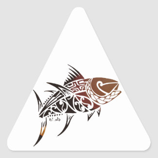 Adesivo Triangular Atum