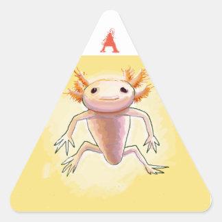 Adesivo Triangular aXolotl