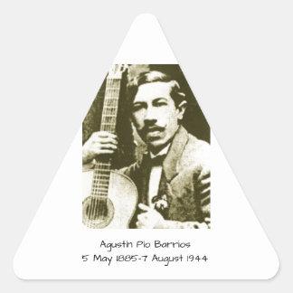 Adesivo Triangular Bairros de Agustin Pio