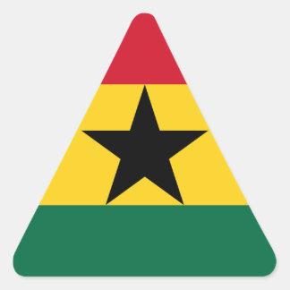 Adesivo Triangular Baixo custo! Bandeira de Ghana