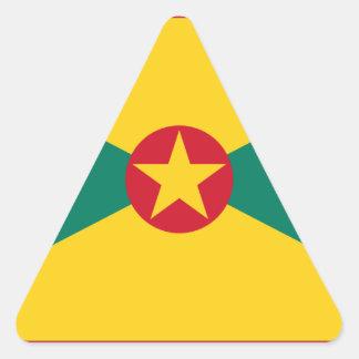 Adesivo Triangular Baixo custo! Bandeira de Grenada