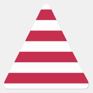 Adesivo Triangular Baixo custo! Bandeira de Liberia