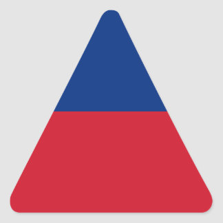 Adesivo Triangular Baixo custo! Bandeira de Liechtenstein