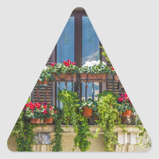 Adesivo Triangular balcuny no navona da praça