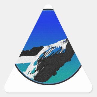 Adesivo Triangular Baleia