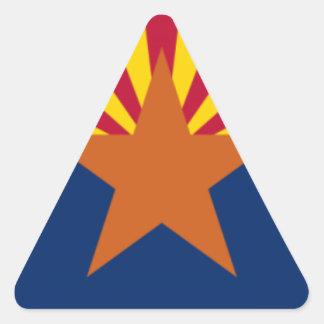 Adesivo Triangular Bandeira da arizona
