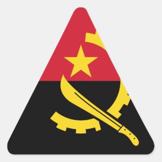 Adesivo Triangular Bandeira de Angola - Bandeira de Angola