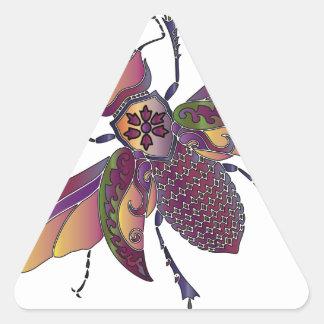 Adesivo Triangular beatle